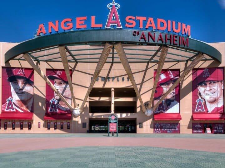 Angel Stadium of Anaheim Entrance