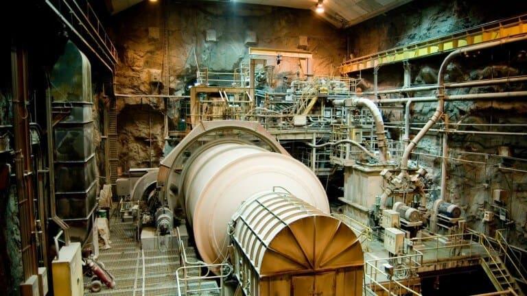 Underground Grinding Mill